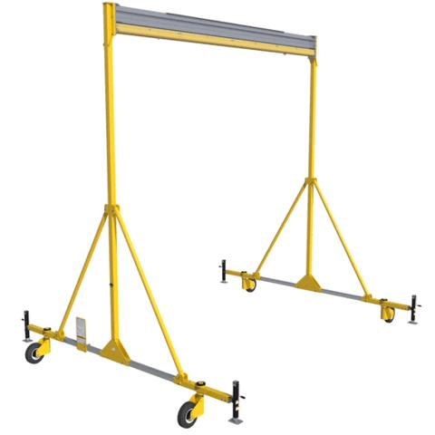 Portique mobile à bâti en A FlexiGuardMC d'une hauteur de 6.1m (20 pi); hauteur fixe