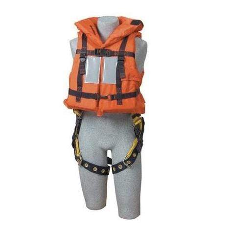 3M™ DBI-SALA® Off-Shore Lifejacket, with harness D-Ring opening, orange
