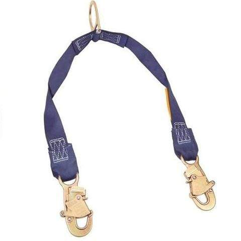 3M™ DBI-SALA® Rescue/Retrieval Y-Lanyard, blue, 2 ft (0.6 m)