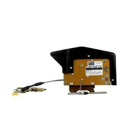Treuil Salalift II DBI-SALA® 3M<sup>MC</sup>, jaune anodisé, noir, acier inoxydable, 27 m (90 pi)