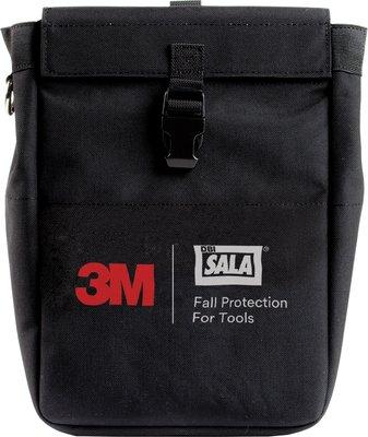 Pochette à outils DBI-SALA® 3M<sup>MC</sup>, avec anneau en D, très profonde, noire, 22 cm x 12,7 cm x 33 cm (8,75 po x 5 po x 13 po)