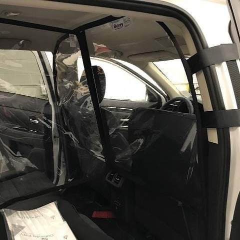 Physical Barrier for SUV from Mitsubishi - (COVID-19)
