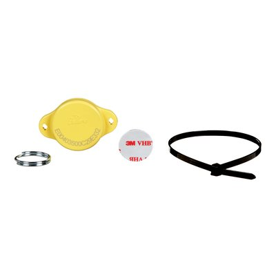 3M™ DBI-SALA® Mechanical Mount HF Retrofit RFID Tag, yellow, 25 per pack