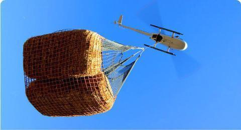 Filets de cargaison héliporté