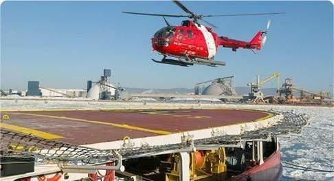 Filets d'environnement d'hélicoptère