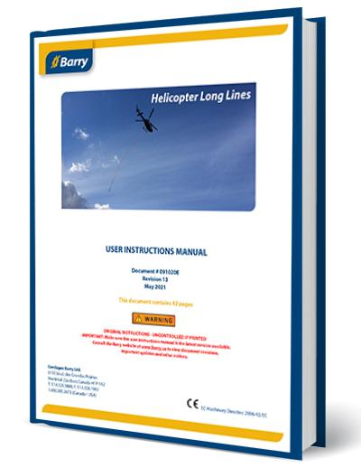 Instructions Manual Barry Synthetic Helicopter Longlines