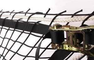 Nets and Netting Finishing-Exosqueleton (webbing & strap ratchet) (F9)