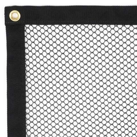 Panneau de filet de sécurité - Barrytex en polyester (3/8) avec oeillet