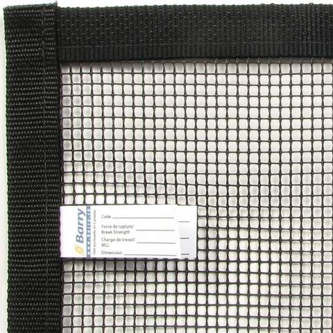 Panneau de filet de sécurité - Barrytex PVC