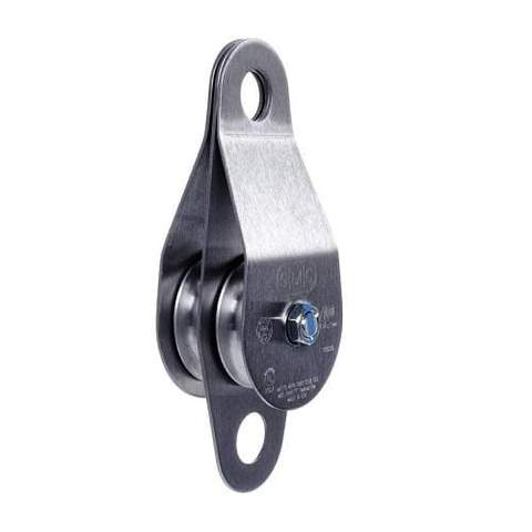 SMC/RA Stainless Steel Double Pulleys 1/2 in X2 in Oilite