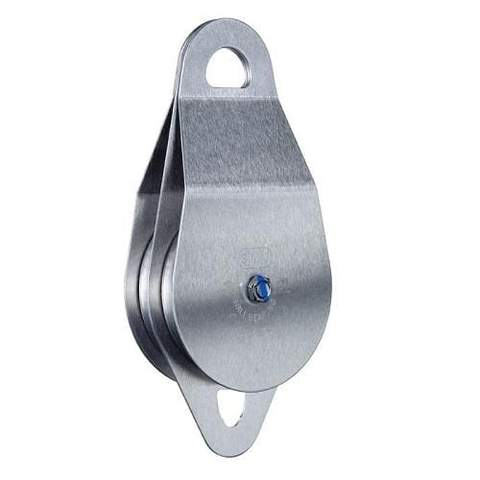 SMC/RA Stainless Steel Double Pulleys 1/2 in X4 in Oilite